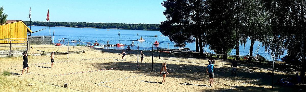 Beachcamp am Helenesee