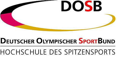 """Logo """"Deutscher Olympischer Sportbund: Hochschule des Spitzensports"""""""